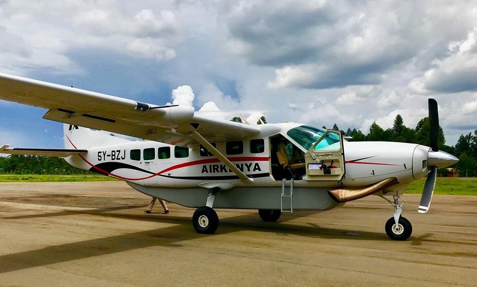 Flying to Masai Mara National Reserve