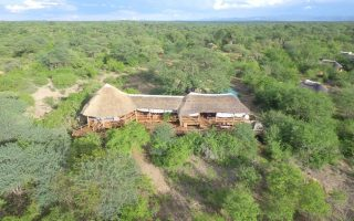 Luxury lodges in Ruaha national park